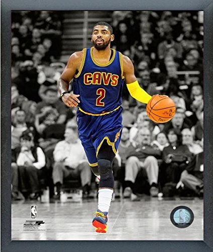 Kyrie Irving Cleveland Cavaliers Nbaスポットライトアクション写真(サイズ: 12 cm x 15 cm )フレーム   B017HQNTYS