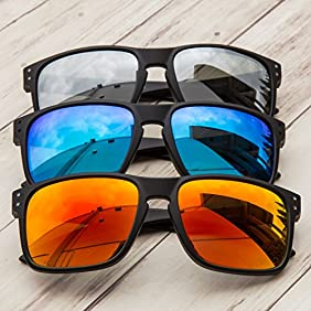 GAMMA RAY Polarized UV400 Classic Sunglasses with Shatterproof Nylon Frame - Choose Your Color