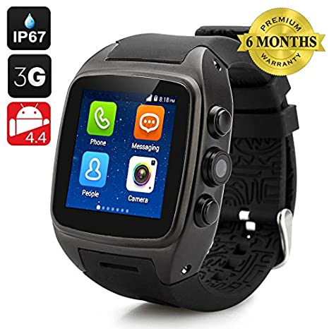 iMacwear M7 Smart Watch Phone - IP67 Waterproof Rating, 1.54 Inch ...