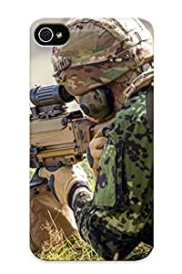 Podiumjiwrp NxMwRhn694tHybc Case Cover Skin For Iphone 4/4s (sniper )/ Nice Case With Appearance