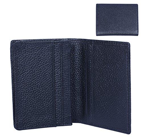 AUGYMER Leather Minimalist Wallet Folding
