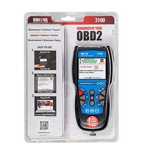 Innova 3100i Diagnostic Code Reader / Scan Tool with ABS for OBD2 Vehicles by Innova (Image #6)