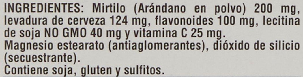 Robis Mirticir Complemento Alimenticio Natural - 30 Comprimidos: Amazon.es: Salud y cuidado personal