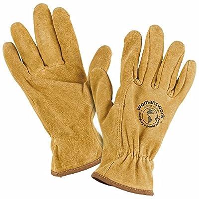 Womanswork Original Pigskin Work Gloves, Small
