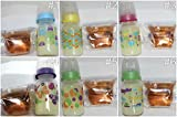 Reborn Boy / Girl / Unisex Bottle Lot Faux Fake Formula Milk & Apple Juice Baby OOAK