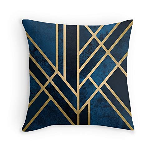 Art Deco Midnight for Sofa Couch Living Room Bed Decorative