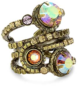 "Sorrelli ""Mirage"" Stacked Crystal Ring"