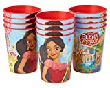 American Greetings 6020811 Elena of Avalor Plastic Party Cup, 12-Count, Stadium Cup