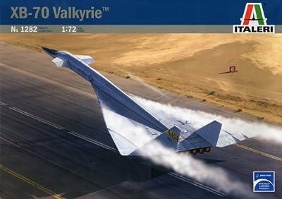 ITALERI 1:72 Aircraft No 1282 XB-70 Valkyrie Model Kit by Italeri