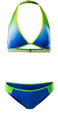 c455db9aa9a24 AquaWave Bikini Sportbikini Bademode Badeoutfit Badeanzug zweiteilig für  Damen - mit herausnehmbaren Körbchen - für Sport