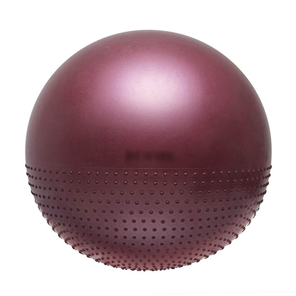 Sports Fitness Yoga Ball Thick Explosion-Proof Indoor Fitness Ball Thorn Shape Design Can Be Massaged Firmly Balance Ball Massage Training Ball (Load: 120kg) Exercise Ball Chairs