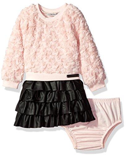 Calvin-Klein-Baby-Girls-Mix-Fabric-Dress