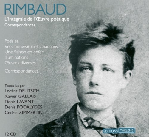 Coffret Rimbaud - 12 audio CD in French (French Edition) by French and European Publications Inc