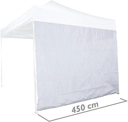 Cablematic - Lona lateral para carpa tipo completa blanca de 450cm ...