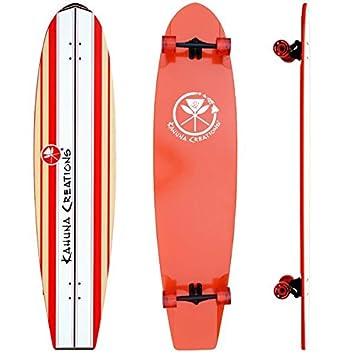 Kahuna Creations Bombora Coral Ultra Longboard, Orange, 59 x 14
