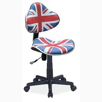 JUSTyou Q G2 Chaise Fauteuil De Bureau Angleterre 84 95 X 48