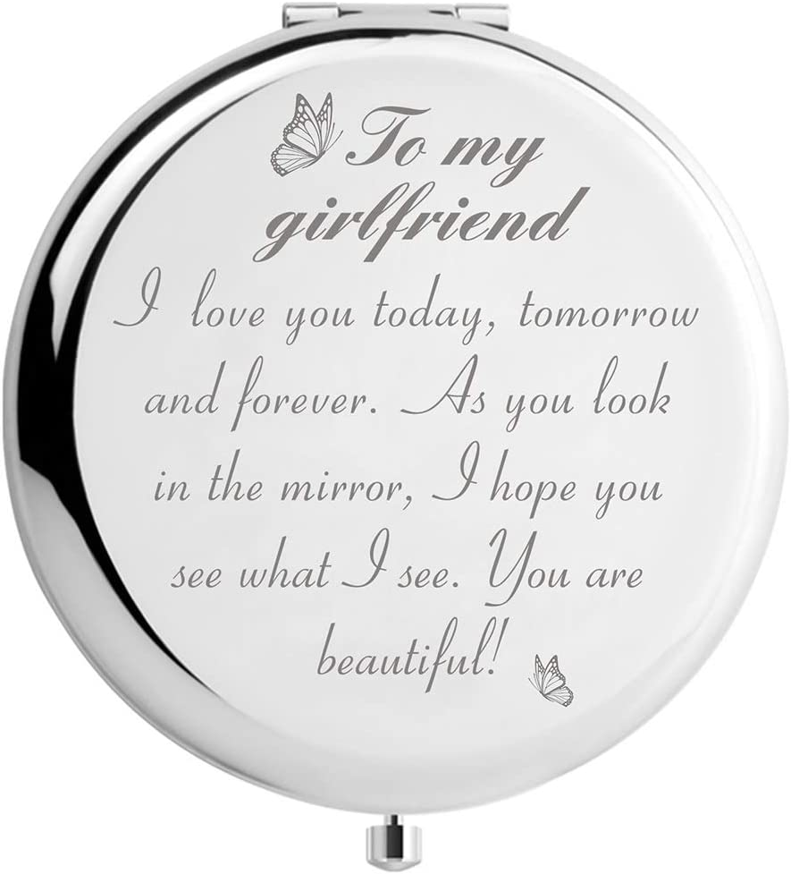 To My Girlfriend Makeup Mirror