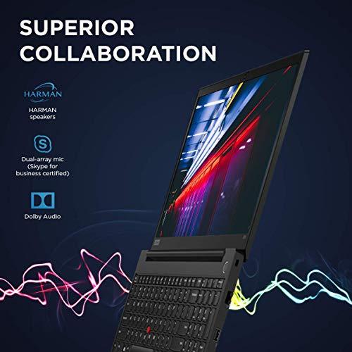 Lenovo ThinkPad E15 Intel Core i5 10th Gen 15.6-inch Full HD IPS Thin and Light Laptop (8GB RAM/ 1TB HDD + 128GB SSD/ Windows 10 Home/ Microsoft Office Home & Student 2019 / Black/ 1.9 kg), 20RDS18B00