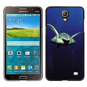 // PHONE CASE GIFT // Duro Estuche protector PC Cáscara Plástico Carcasa Funda Hard Protective Case for Samsung Galaxy Mega 2 / Sear Turtle /