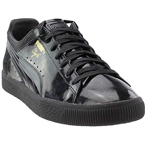 PUMA Mens Clyde Wraith Casual Shoes Black 11