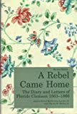 A Rebel Came Home, Ernest M. Lander and Charles M. McGee, 0872496422