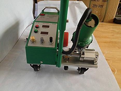 Inteligente PVC PE Flex Banner costura soldador con 1600 W Leister pistola de calor 220 V: Amazon.es: Bricolaje y herramientas