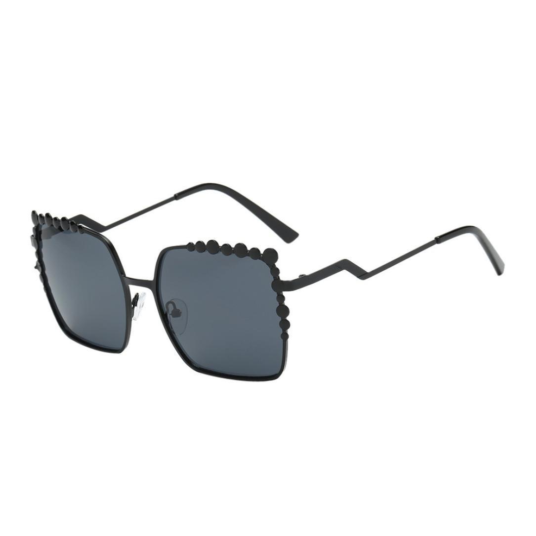 6ca8e10765656 Fashion Women s New Trend Frame Shades Acetate Frame UV Glasses Sunglasses  Driving Journey Beach Sunglasses Eyewear Sunshine Glasses (A)   Amazon.co.uk  ...