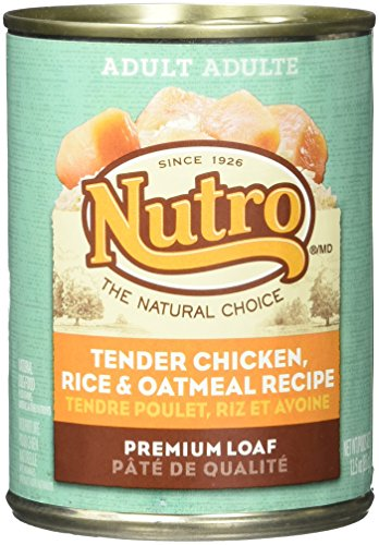 Nutro 50411561 Tender Chicken, Rice & Oatmeal Recipe Can Dog Food, 12 EA/12.5oz Review