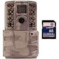 Moultrie A-30i 12MP 60 HD Video NoGlow Infrared Game Trail Camera + 8GB SD Card