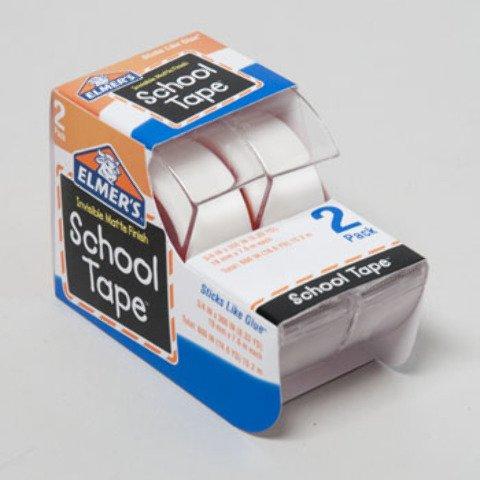 Elmer's 2 pack Invisible School Tape 48 pcs sku# 1892927MA