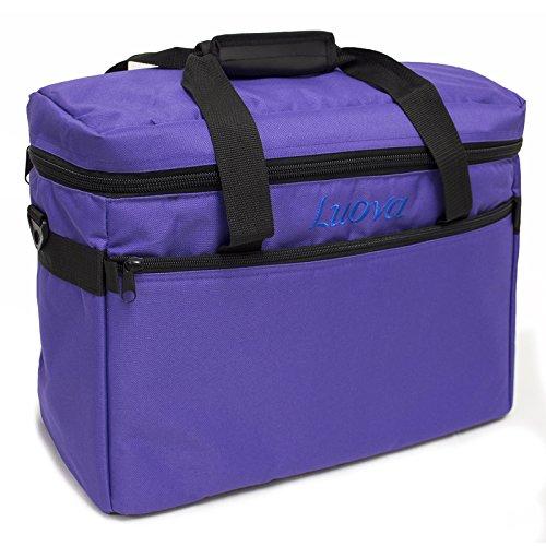 Luova 18″ Sewing Machine Tote in Purple