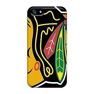BdU242oKbQ Snap On Skin Case For Iphone 6 4.7 Inch Cover (chicago Blackhawks)