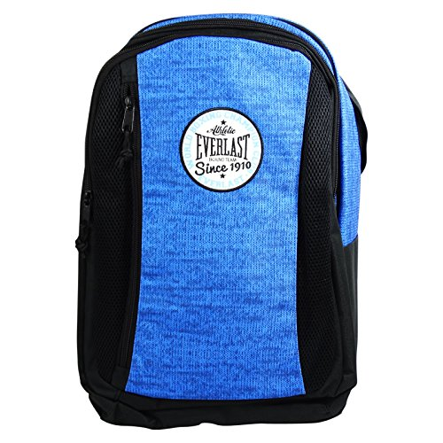 Everlast School Backpack Daypack Black Shoulder bag Running Backpack Blue (Everlast Backpack)