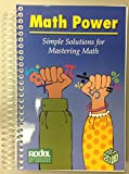 Rodel Math Power:Simple Solutions for Mastering Math (English/Spanish)