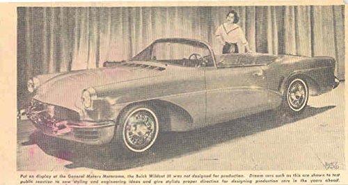 1956 Buick Wildcat III Motorama Concept Clipping