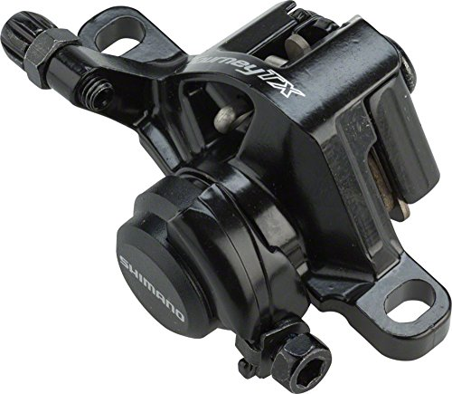 SHIMANO Tourney Mountain Bicycle Mechanical Disc Brake - BR-TX805 (Black)