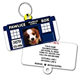Doctor Woof PAWDIS Custom Dog Tags for Pets - Personalized Pet ID Tags - Dog Tags For Dogs - Dog ID Tag - Personalized Dog ID Tags - Cat ID Tags - With Pet Photo