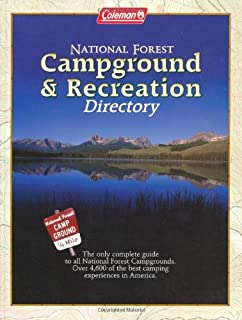 US National Forest Campground Guide Southern Region Moon - Us forest campgrounds map