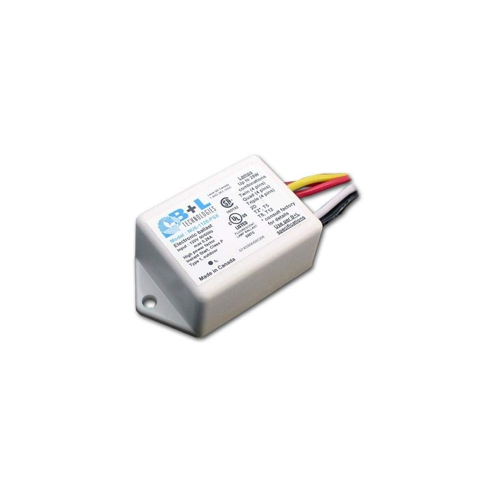 B&L Technologies 47152 - NU6-1128-PSX Compact Fluorescent Ballast