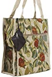 Ladybug Tapestry Travel Tote Bag with Coin Purse