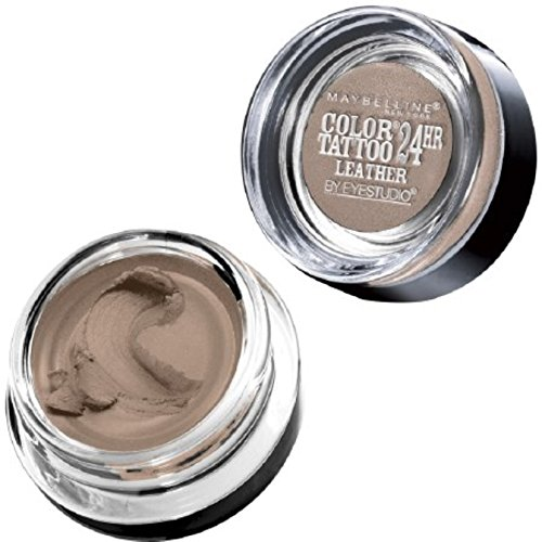 Color Tattoo 24Hr Leather by EyeStudio Cream Gel Eyeshadow, Creamy Beige 0.14 oz (Pack of 2) ()