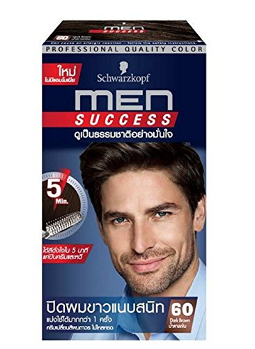 Schwarzkopf MEN SUCCESS Natural Hair Coloring No Ammonia Dar