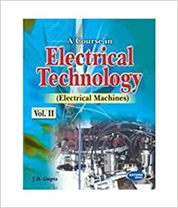 Buy A Course In Electrical Technology Machines