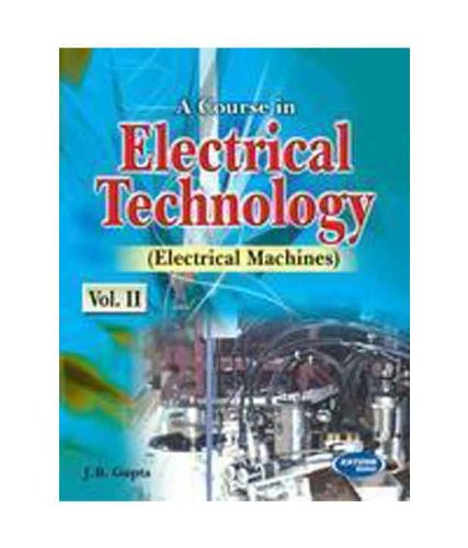 Theory And Performance Of Electrical Machines By Jb-gupta Ebook