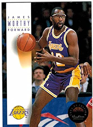 c8e98537667 1993-94 SkyBox Premium Los Angeles Lakers Team Set with James Worthy & Nick  Van
