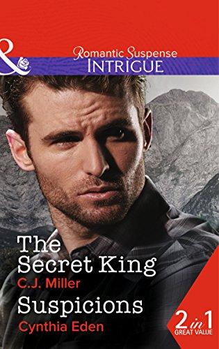 book cover of The Secret King / Suspicions