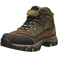 Hi-Tec Skamania Mid Waterproof Men's Hiking Boots (Brown/Gold)