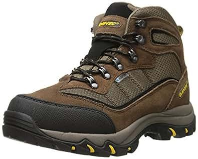 Hi-Tec Men's Skamania Mid WP Hiking Boot, Brown/Gold,10 M US