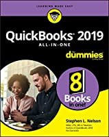 QuickBooks 2019 All-in-One For Dummies Front Cover