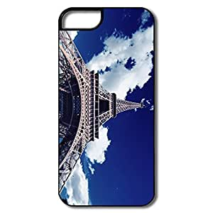 IPhone 5S Case, Eiffel Tower Bottom View White/black Cases For IPhone 5